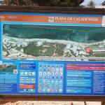 Kart over strandområdet