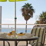Lunch på terrassen